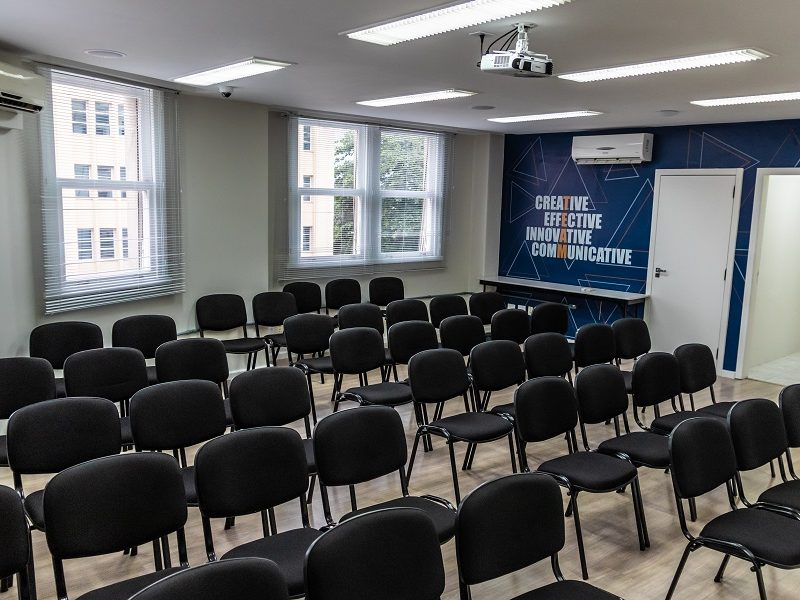 Sala de Treinamento - Formato Auditório